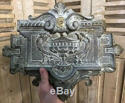 Heurtoir Support en Bronze Napoléon III Porte Ancienne XIXeme Boîte a Lettre