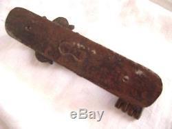 Heurtoir de porte fin 1700 début 1800 ouvragée fer forgé ancien motif très rare