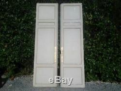 Immense paires de portes haussmanienne