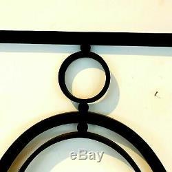 Imposte de porte en fer forgé Élément de décoration XX siècle