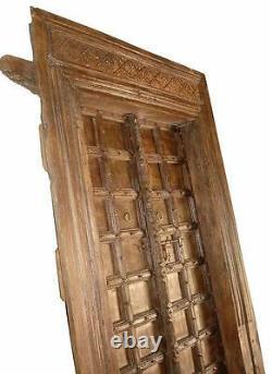 Inde Porte Antique Env. 130j. Véritable Accroche-Regard