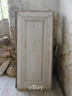 Lot 3x Double portes anciennes / 3x Volets intérieurs / Boiseries / Corniche