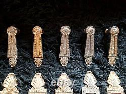 Lot Plaques De Propreté Poignées Portes Anciennes Styldecor