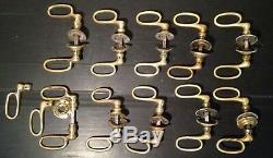 Lot Poignées de Porte Anciennes Bronze Laiton Fer XIX 1900 old door handle 19th