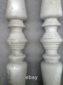 Lot de balustre / Balustre d'escalier / Matériaux anciens