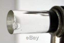 Louis SOGNOT DESNY 7 poignées de porte métal & verre MODERNISTE mi-XXème