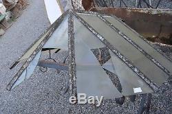 Marquise en fer forge / 148 cms de large