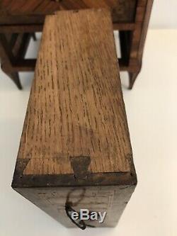 Meuble De Maîtrise Coffret A Bijoux Marqueterie Louis XVI XVIIIeme