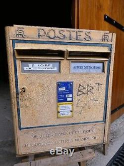 Objet de Métier Postal boite aux lettres Vintage La Poste Fonderie Dejoie 1967