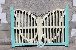 PORTAIL PAPILLON exceptionnel ARTISAN travail de maitrise 1950 / 60 ART
