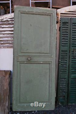 PORTE ANCIENNE EN CHENE 18 EME (à DECAPER)