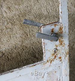 PORTE d'ATELIER, ancienne porte d'atelier en métal, verrière, indus, loft, N°2
