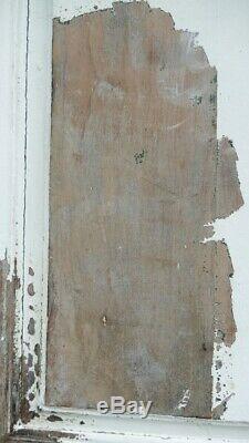 Paire De Grandes Portes De Boiserie En Merisier Peint, époque Louis XV, XVIII èm