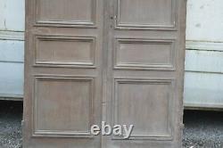 Paire de portes / 145 cms de façade x 2m80 de haut