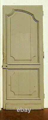 Paire de portes de style Louis XV en chene patiné XIX siècle