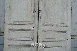 Paire de portes en chêne / 150 cms de façade x 2m78 de haut