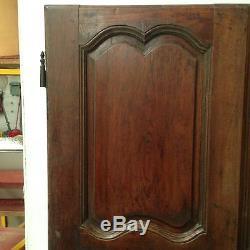 Paire de portes en chêne massif / Portes d'armoire / Porte de placard /