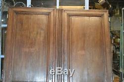 Paire de portes normandes en chêne
