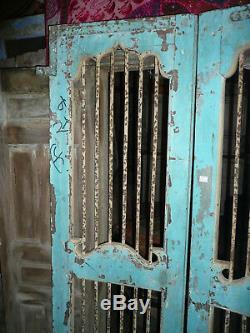 Paire portes indiennes à barreaux N°2