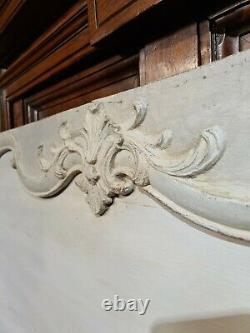 Panneau De Boiserie, Dessus De Porte d'époque Régence