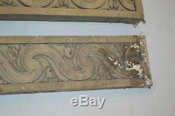 Panneaux en bois sculpté (la paire)