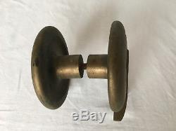 Poignee De Porche Porte Entree Ancienne Et Imposante En Bronze Chiffre 7 C1210