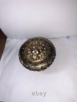 Poignee De Porte En Bronze Dore