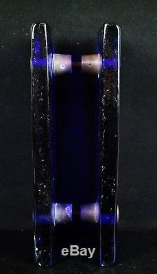 Poignée de porte en verre teinté c1970 4 kg élément d'architecture Door Handle