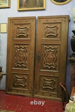 Portail Baroque Piémontaise, D'Époque'600, Noyer / Portail Antique Baroque
