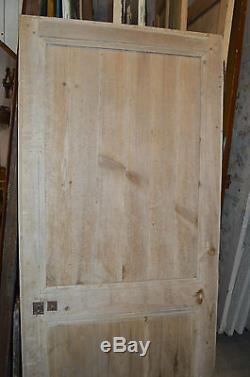 Porte Ancienne En Sapin / 77 Cms De Large X 1m86 De Haut