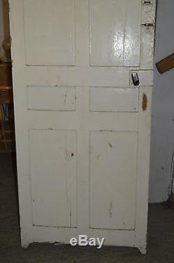 Porte Avec Des Lamelles De Volet En Sapin / 70 Cms De Large X 210 Cms De Haut
