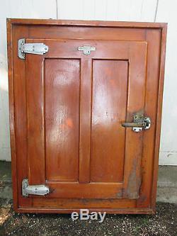 Porte De Chambre Froide Frigo En Chene Avec Son Cadre Loft Design Industriel