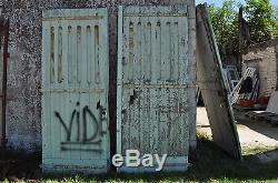 Porte De Ferme Ancienne H 245 Ref 4994