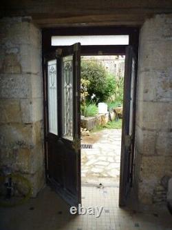 Porte Entree Vitree Ancienne