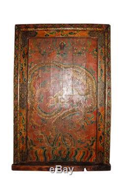 Porte Tibet Très belle et rare. La porte est antique et vieux environ 120 ans