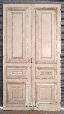 Porte ancienne / Double porte de séparation /Porte ancienne / Matériaux anciens