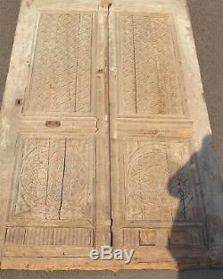 Porte bois Marocaine, Maghreb bois sculpté