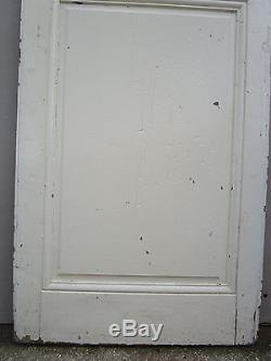 Porte communication Angles rentrants Louis XVI bois pin ancienne 72 x 212 cm
