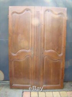 Porte d'armoire chêne ancienne