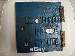 Porte de boite aux lettres mougeotte ptt facteur delachanal la poste 1900