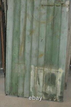 Porte de grange en sapin / 83 cms de large x 2m62 de haut