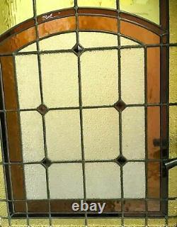 Porte de passage Art Déco Vitraux époque 1900