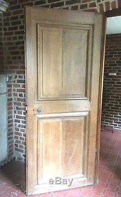 Porte de passage en chêne Porte ancienne Porte de placards