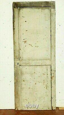 Porte de passage en sapin patiné Porte ancienne XIX siècle