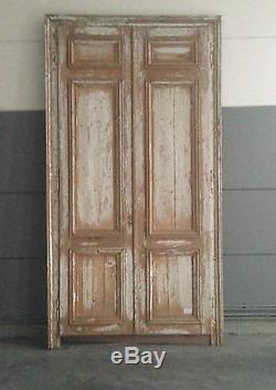 Porte de placard / Façade de placard / Portes / matériaux anciens