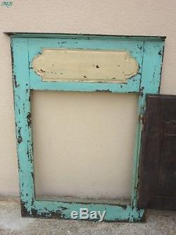 Porte en bois ancienne