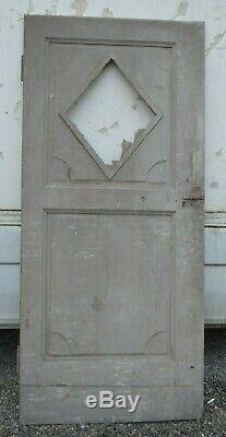Porte en chêne / 93 cms de large x 2m03 de haut