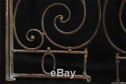 Porte, portail en fer forgé, 1920-30 / Grid, gate, wrought iron door 20's