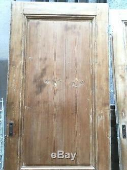 Portes anciennes Portes de passage Porte en sapin