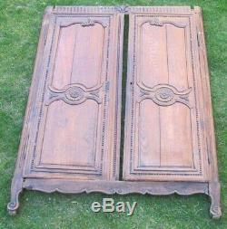 Portes anciennes provençales XIXeme façade armoire placard séparation